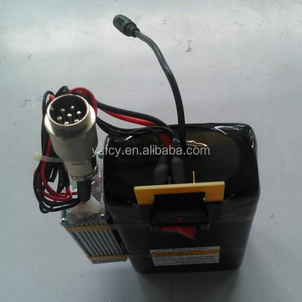 24v/22.2v 10.4ah rechargeable ebike battery