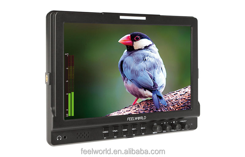 10.1 inch sdi lcd monitor with HDMI AV YPBPR Seamless switch IPS panel