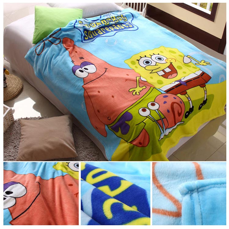 Colorful Cleaning Service Logo: Bulk Blankets Anime Printed Blankets