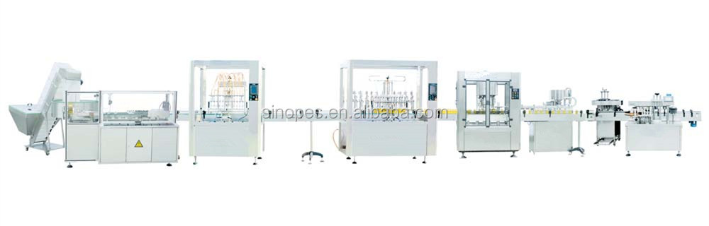 Automatic Liquid Bottling Line, Water Bottling Line, Automatic Plastic Bottle Filling and Packaging Line