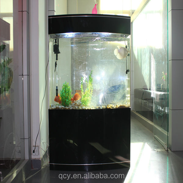Fashionable big acrylic aquarium fish tank manufacturer Shenzhen