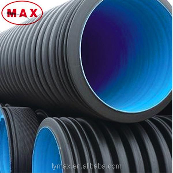 Large diameter hdpe pipe underground quot corrugated
