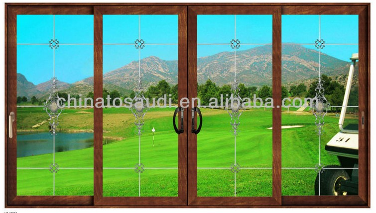 Arch aluminum wood windows drawings casement window