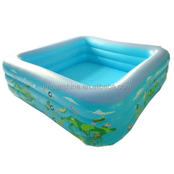 2014 fashion design Inflatable square swimming pool