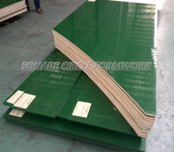 Plastic Cement Board : Pp plastic phenolic shuttering wood for formwork board
