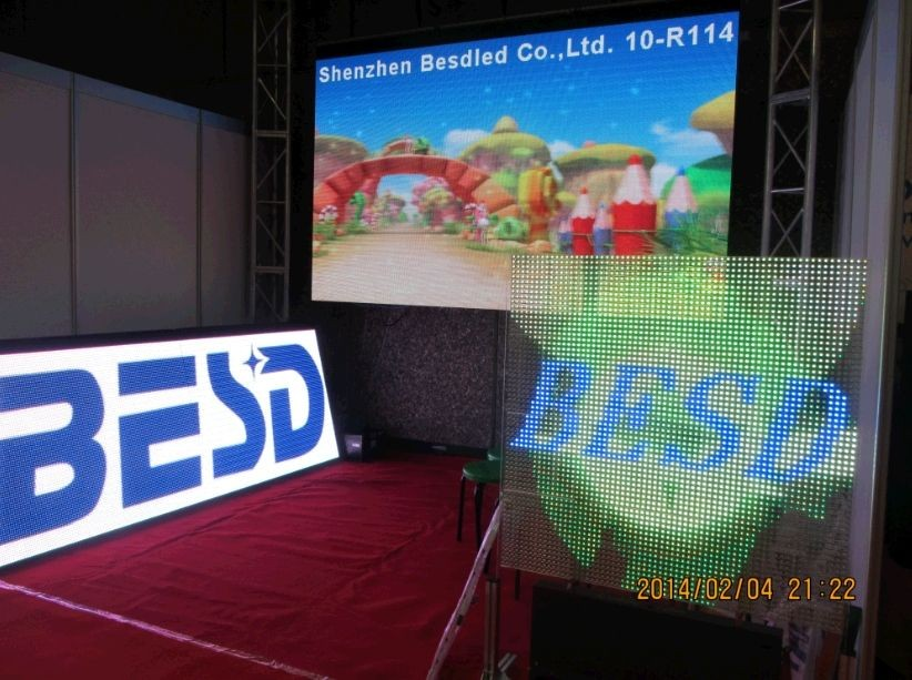large LED double sided WIFI 3G waterproof Outdoor Usage colour full 10mm 16mm Pixels Programmable led signs
