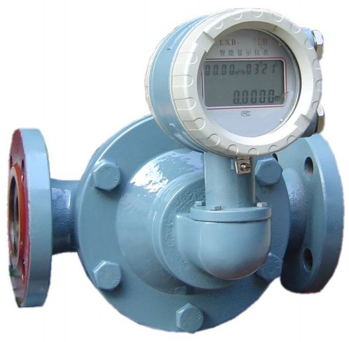 Bunker fuel oil LCD display instant flow and Totalizer Flow Meter
