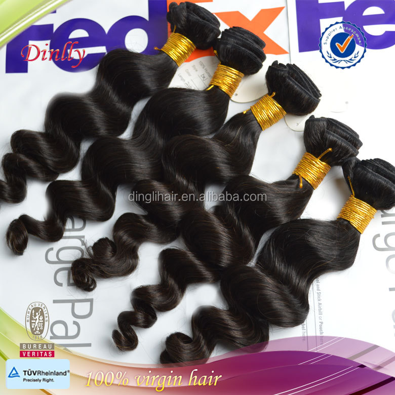6a grade wavy wholesale virgin peruvian hair