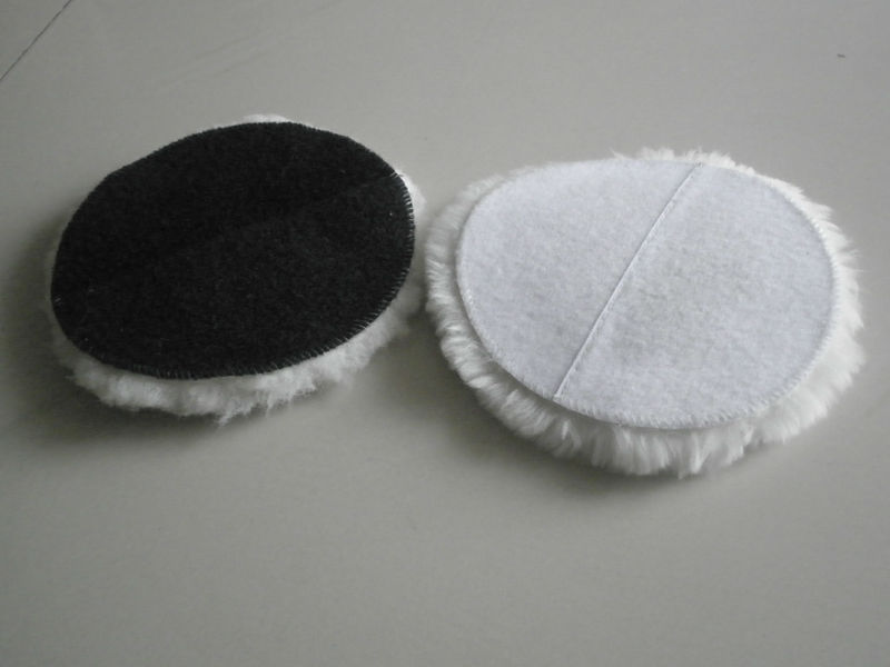 Natural Wool Polishing Pad