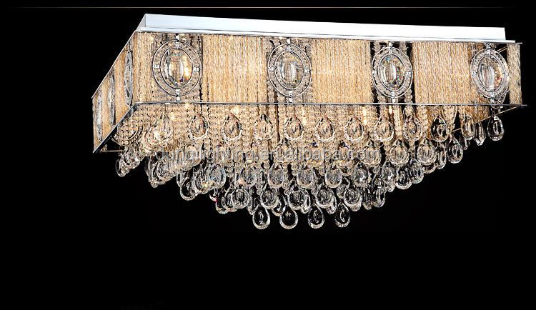 Crystal Modern Bathroom Ceiling Lamp