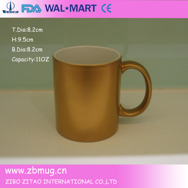 Zibo Tysan Light Industrial Products Co Ltd: Orca Coating Sublimation Mugs Souvenir Cup