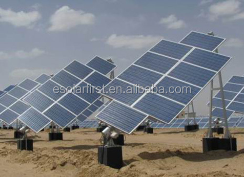 120kw single-axis Solar Tracker System