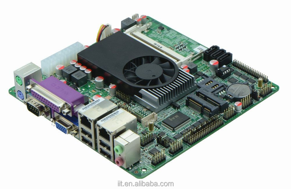 Intel celeron 1037u mini itx motherboard with 1000mbps LAN and three SATA2 ports by local Shenzhen manufacturer