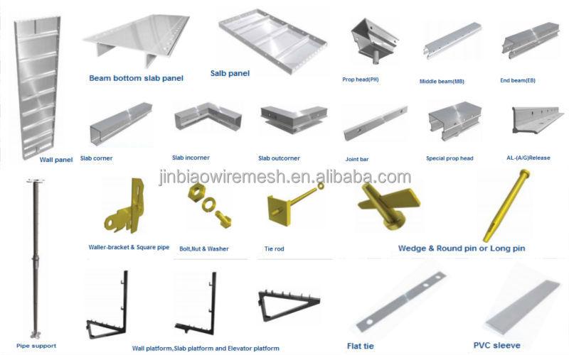 Aluminum Shuttering Formwork Buy Aluminum Shuttering