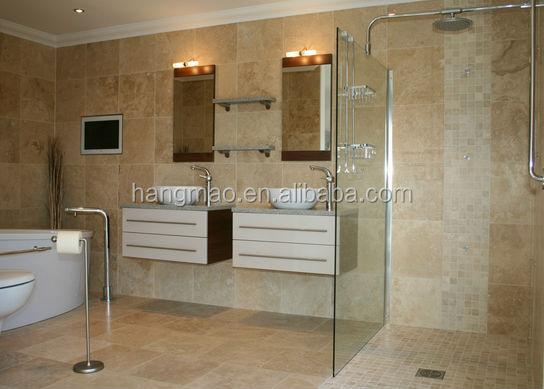 China Local Beige Travertine Marble Bathroom - Buy Marble Bathroom ...