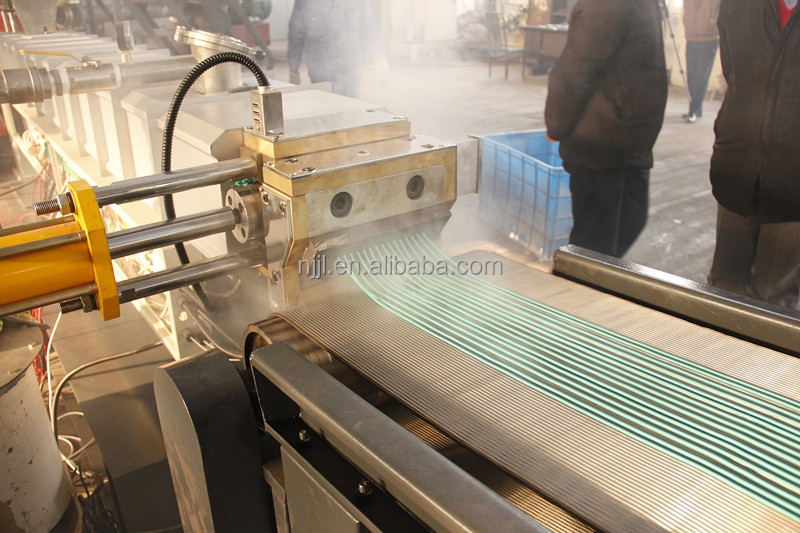 Twin screw air cooling strands pelletizing line for filler color masterbatch