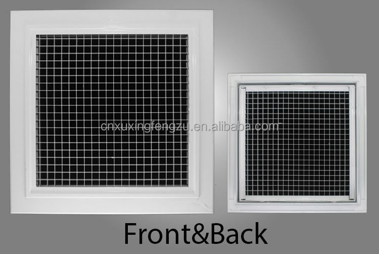 Perforated Lay In Grille : Removable eggcrate grille perforated louver with net buy