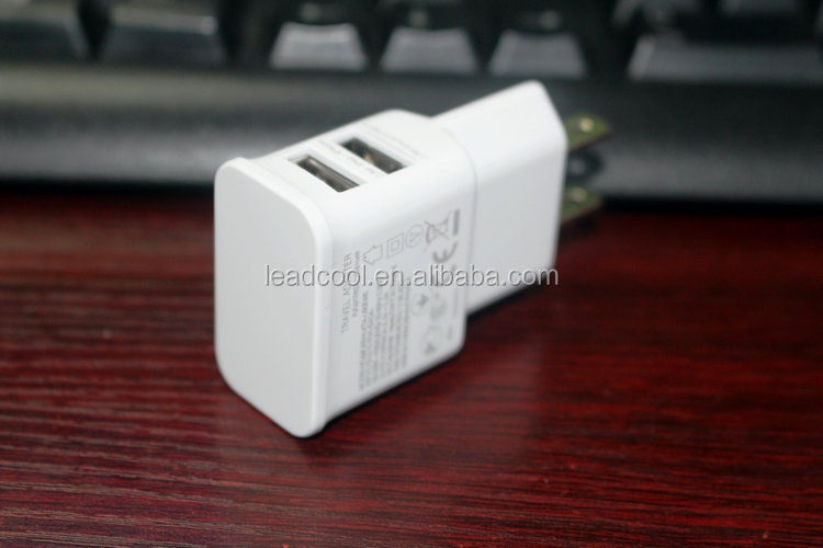 china manufacturer 5v 2.1a usa travel charger