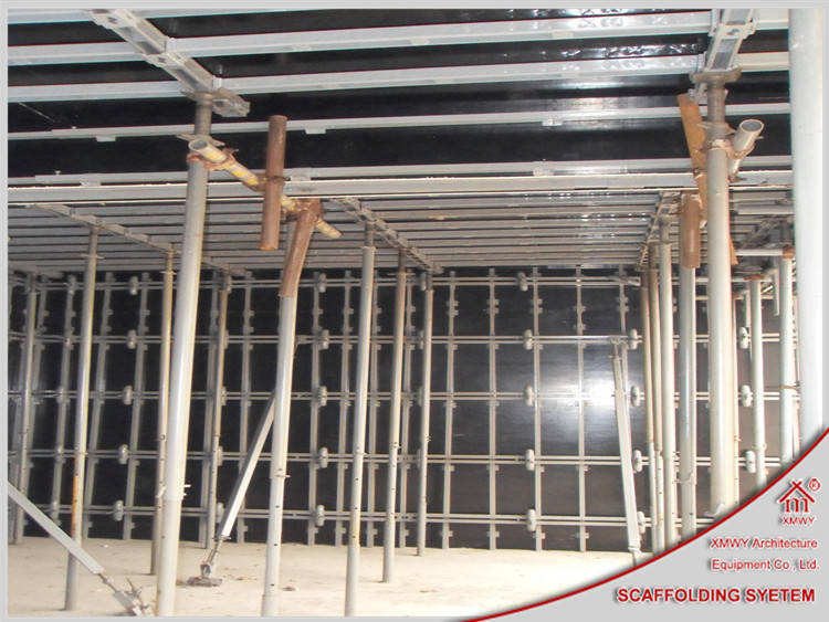 High Ribbed Formwork For Shearing Force Wall