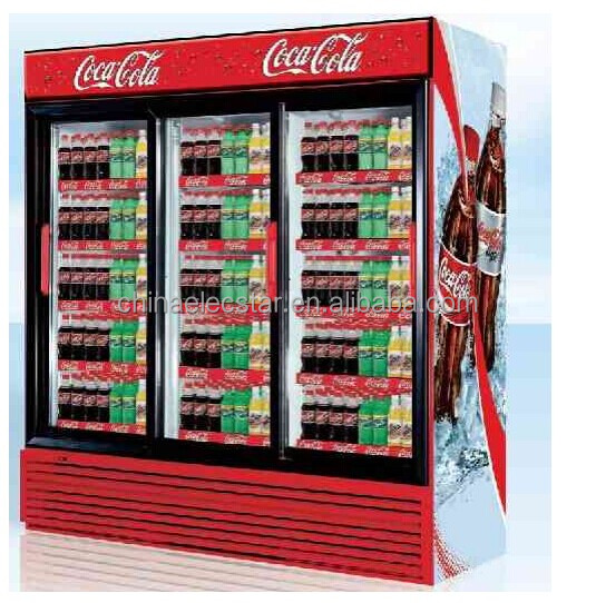 Pepsi Double Door Beverage Display Upright Cooler With