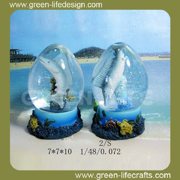 Creative design souvenir water globes