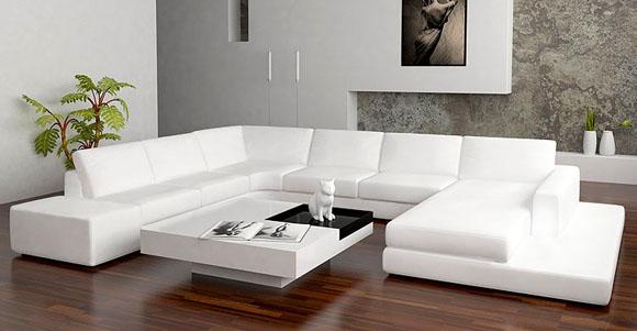 New Style Sofa Set Corner Leather_1921520178 on Modern Western Living Room Designs