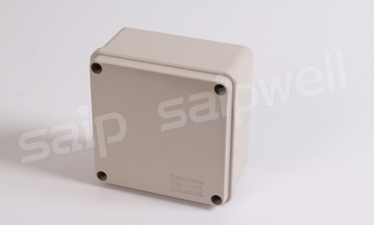 SAIP/SAIPWELL China supplier waterproof electrical plastic junction box price 100*100*75MM