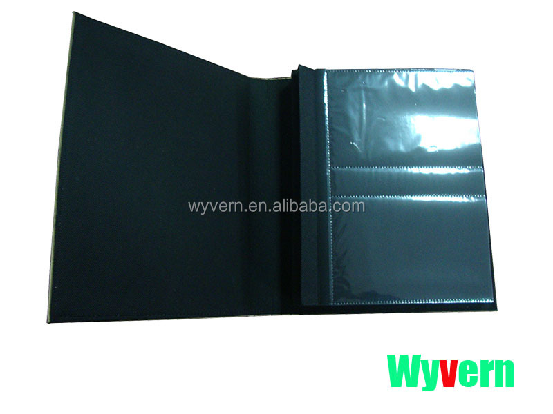 Prefessional Faux Leather Photo Album With Rote Map wholesale wyvern 4221