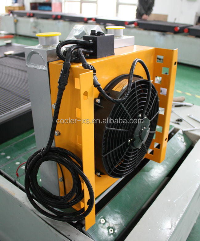 air cooled aluminum hydraulic oil cooler