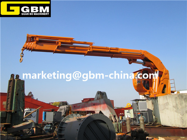 Telescopic Deck Cranes : Telescopic boom hydraulic deck crane buy