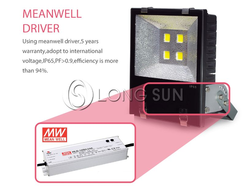 high quality construction site led flood light