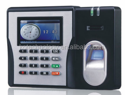 KO-MX629 biometric fingerprint time and attendance system reader with network