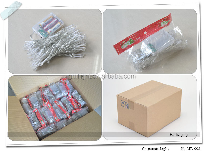 Led Christmas Fireworks Light