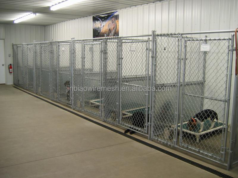 High Quality Chain link Dog Cage With Swing Gate