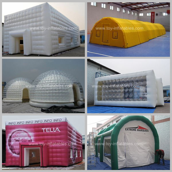 New style commercial inflatable dome tents for events