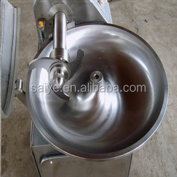 stainless steel meat bowl cutter with high quality