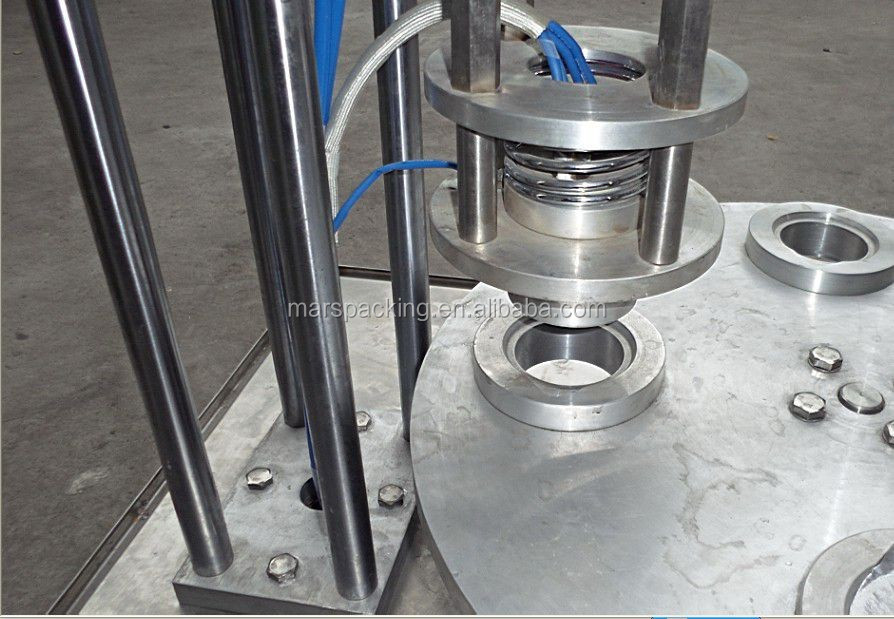 semi automatic filling and sealing machine