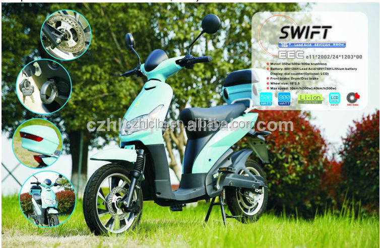 Hot sale new stylish 500w electric scooter electric motorcycle
