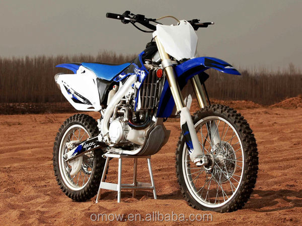 Aluminum Frame 450cc Off Road Motorcycle