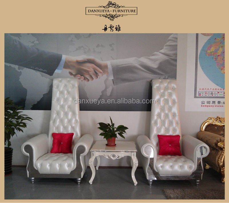 High back chair,white leather sofa chair living room furniture 2262#, View  high back chairs for living room, DANXUEYA Product Details from Foshan ...