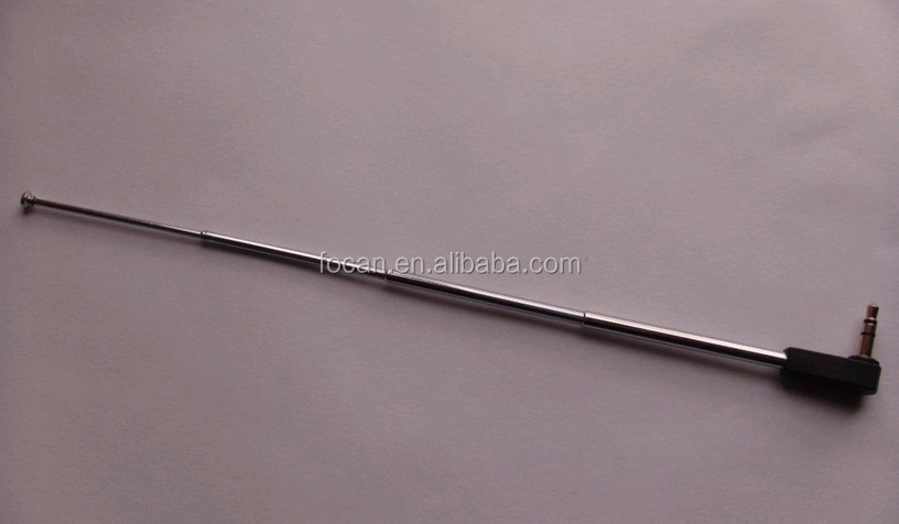FM Radio telescopic antenna with 3.5mm DC jack