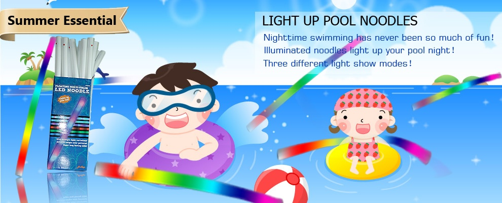 2014 New Hot sale Product Popular Promotion LED Pool Noodle