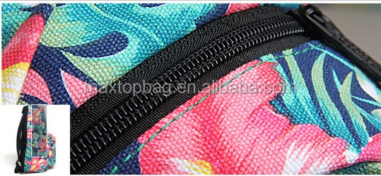 canvas fabric for backpacks wholesale flower school backpacks for college girls