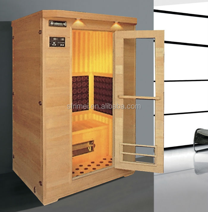 K-7127 Tourmaline Solid Wood Home Sauna Spa Bath Price, Family Dry Salt Sauna