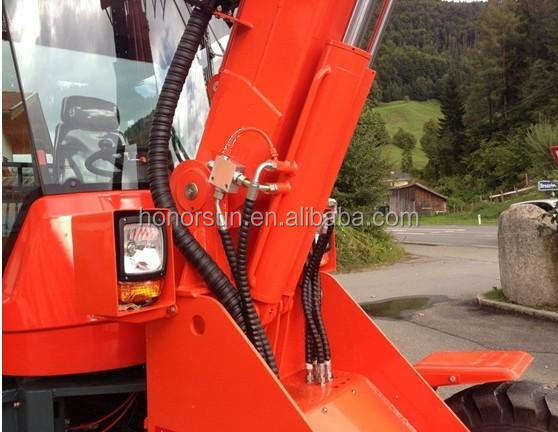 Hot sale ZL16-T construction machine wheel loader with CE