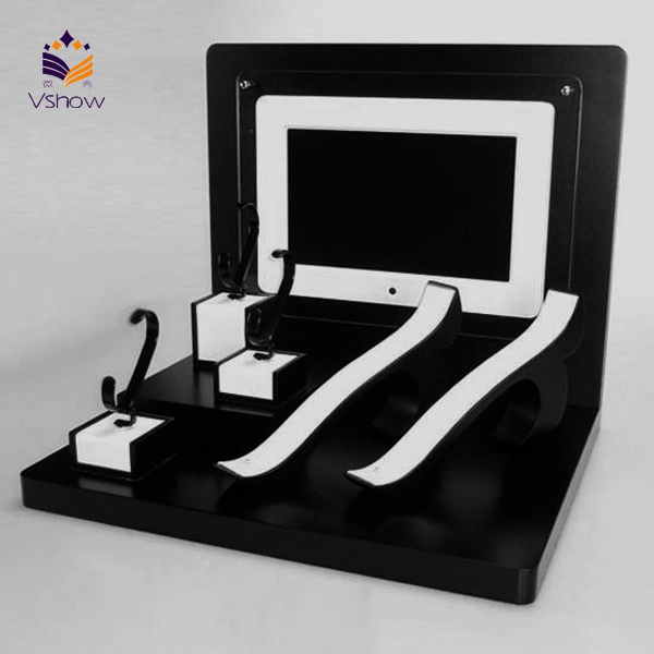 Luxury leather jewelry & watch display tray manufacture China