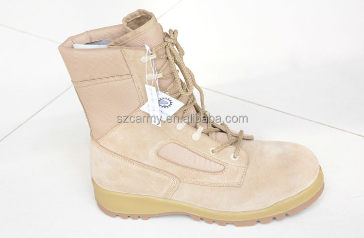 US army boots for sale Rubber EVA sole ankle protection desert cow leather