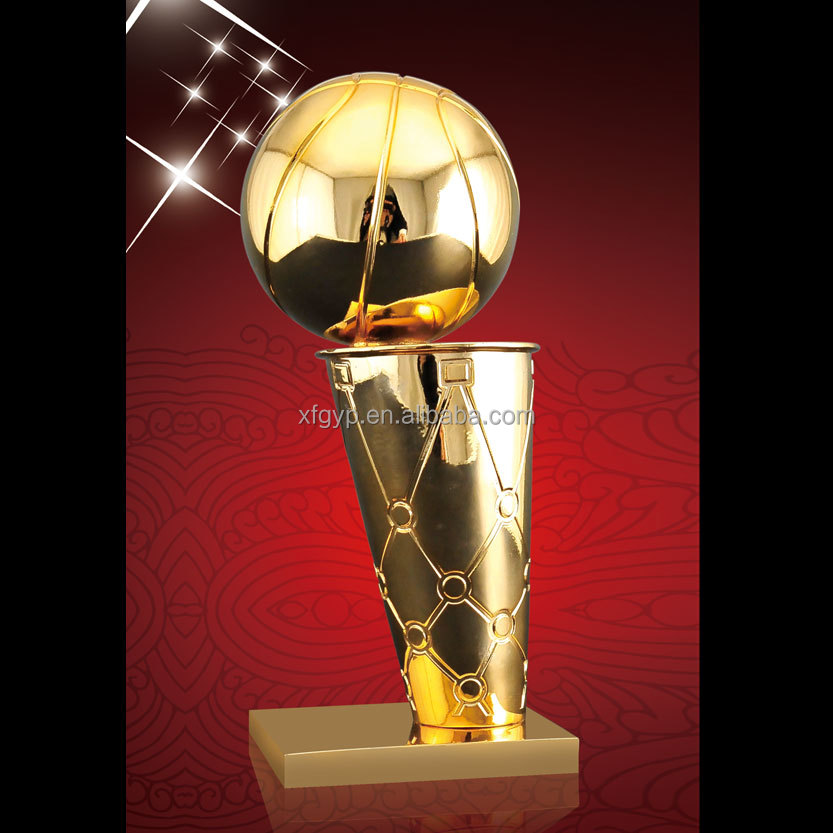 NBA Championship Gold Metal Trophy Cup & Award Metal Trophy