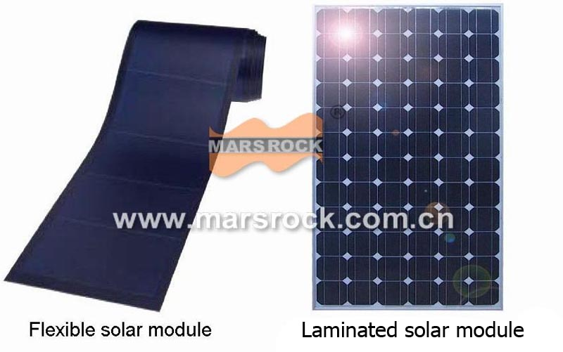 6V 950mA 6W Small Flexible Black Solar Panel with USB Interface Applied in charging mobiles