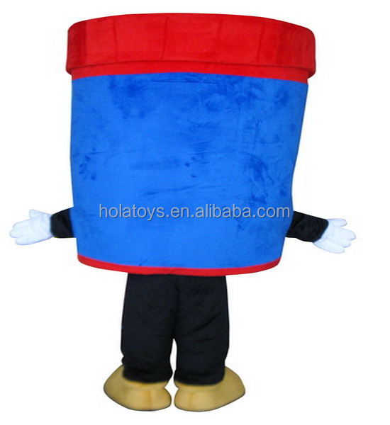 Hola advertising cup mascot costumes for sale